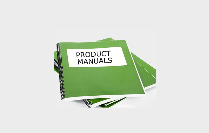 Product Manuals - Getting manuals to help you understand